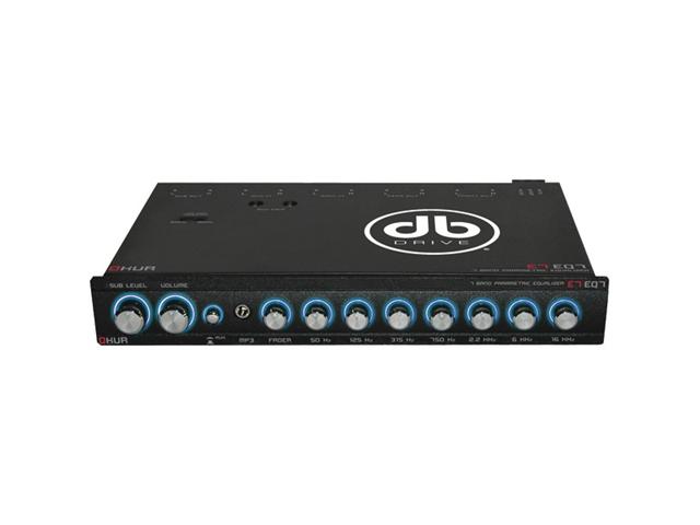 DB DRIVE E7EQ7 Okur(R) Series 7-Band Parametric Equalizer
