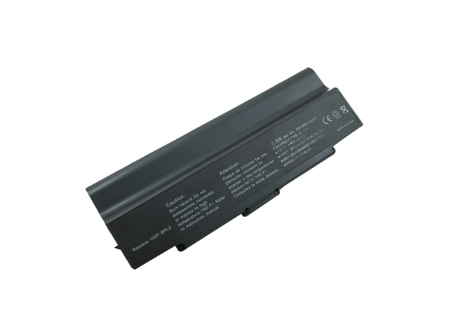 for Sony VAIO VGN S360 9 Cell Battery