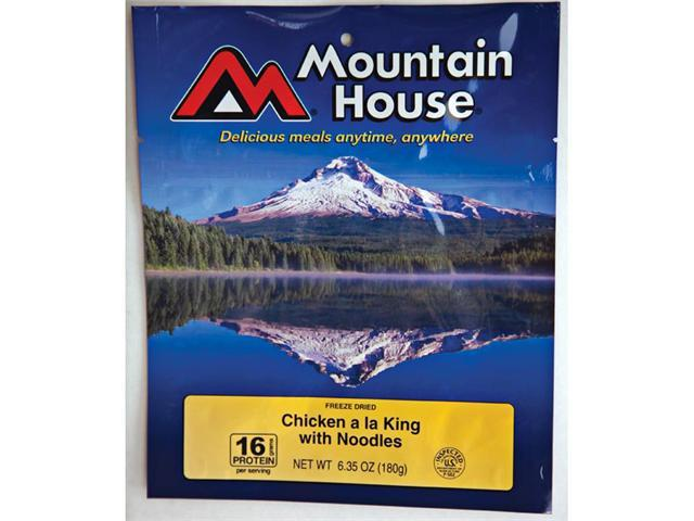 Mountain House Chicken A La King with Noodles - Serves 2