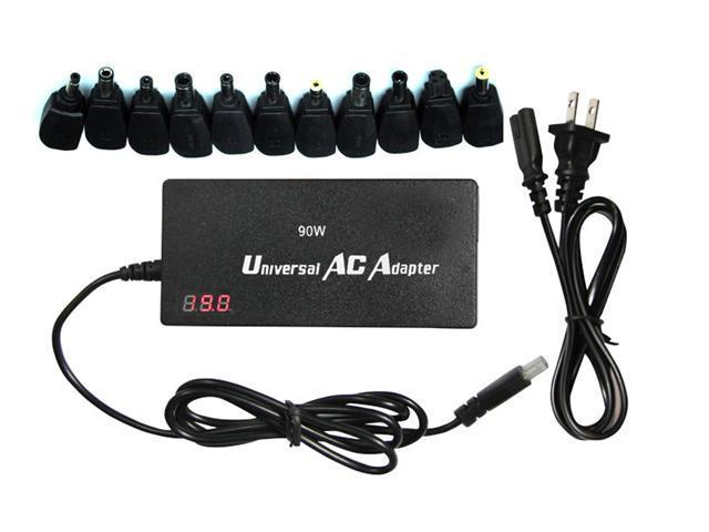 Intocircuit 90W Ultra-slim Universal AC adapter Battery Charger with Auto-switching and LED display
