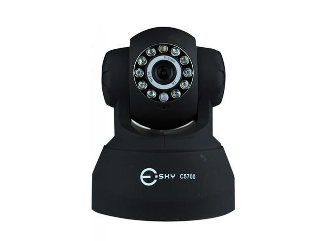 Esky C5700 Wireless/Wired IP Pan/Tilt/ Night Vision/ Internet Surveillance Camera With Phone remote monitoring support