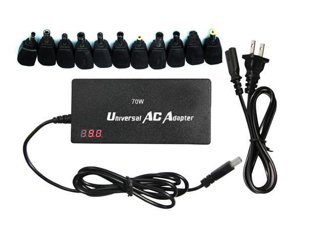 70W Universal Adapter Charger For Acer Aspire 5742 6930 7551 7741z 1830 3680 5515 5517 5532 5534 5100 5251 5253 5315 5552;DELL Inspiron 14z 15 15r 17r n4010 n5010 n5040 1501 1520 1525 6000 6400 e1505