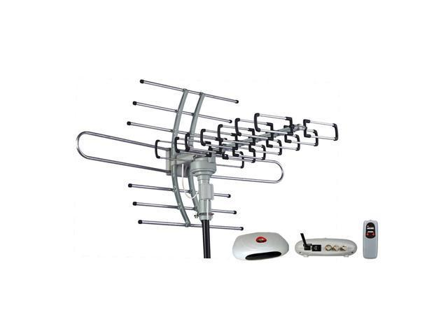 esky hg-981 waterproof multi directional remote control outdoor hdtv antenna