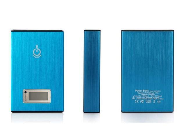 Intocircuit Power Castle 11200mAh Portable 5V 2A/1A Dual USB Ports External New