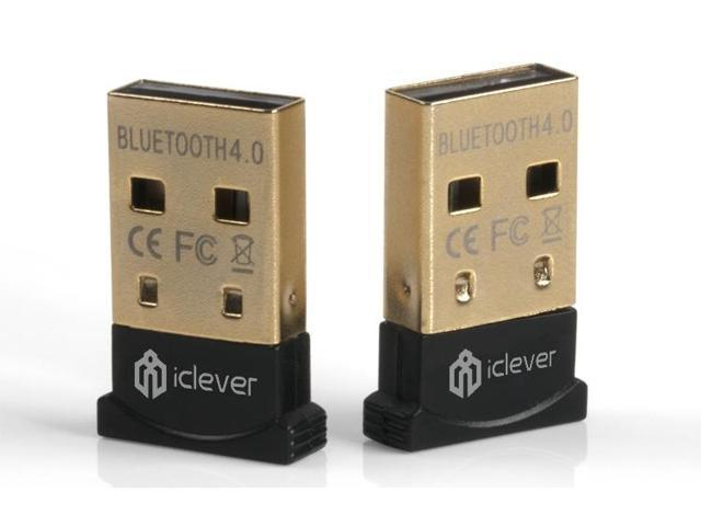 iClever IN-8510-40 Bluetooth 4.0 USB Adapter Dongle - For Windows 8 / Windows 7 / Windows XP/Vista
