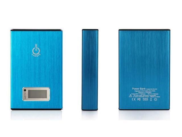 Intocircuit® 11200mAh 5V 2A/1A Dual USB Ports Portable Power Bank/ Backup Battery for iPhone 6, 6 Plus 5S 5 4S 4&#59; iPad Mini ...