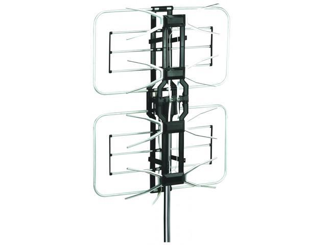 Esky HG-996 Remote Control HDTV Outdoor Antenna - UHF/VHF 360 Degree Rotation, US Version