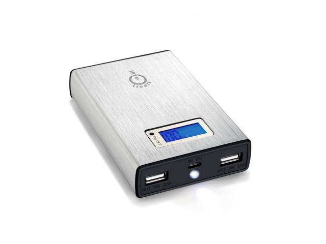 Intocircuit Power Castle 11200mAh Portable 5V 2A/1A Dual USB Ports External Battery Travel Charger For Smartphones