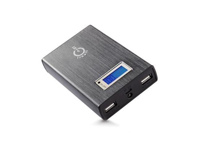 11200mAh 5V 2A/1A Dual USB Portable External Backup Power Bank