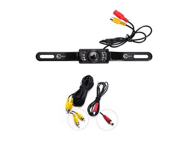 Waterproof NTSC Universal Car Rearview License Plate Backup Camera