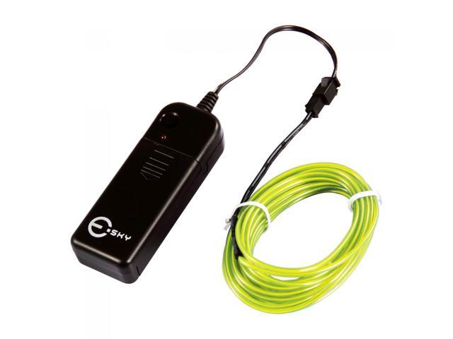 Esky ft neon light el wire w battery pack driver for