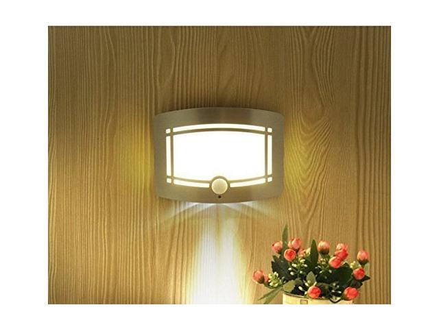 T 03 Wireless Stick Anywhere Bright Motion Sensor Activated LED Wall Sconce  Night Light