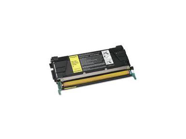 Laser Tek Services® Yellow Remanufactured Replacement Toner Cartridge for the Lexmark C5202YS