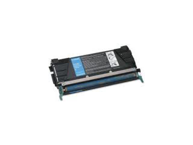 Laser Tek Services® Cyan Remanufactured Replacement Toner Cartridge for the Lexmark C5202CS