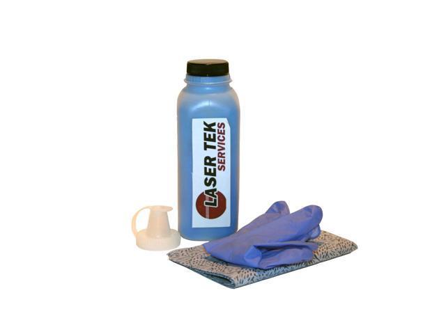 Laser Tek Services ® Cyan Toner Refill Kit for the Lexmark C500 C500n X500n X502n C500H2CG
