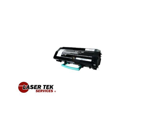 Laser Tek Services® Black Remanufactured Replacement Toner Cartridge for Lexmark X264H21G X264 X364