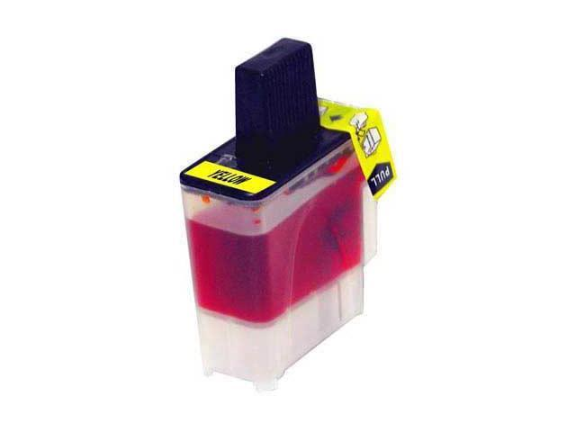 Laser Tek Services® Yellow Compatible Ink Cartridge Brother LC41Y LC41