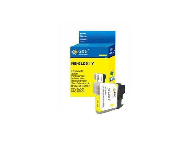 Laser Tek Services® Yellow Compatible Ink Cartridge Brother LC61Y LC61