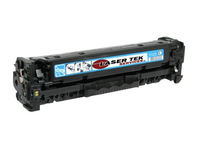 Laser Tek Services® Cyan Toner Cartridge for the HP CB541A 125A Color LaserJet CP1215 CM1312 MFP CP1515n CP1518ni