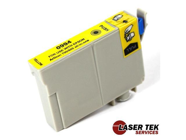 Laser Tek Services® Epson T099420 (T0994) Compatible Yellow Ink Cartridge