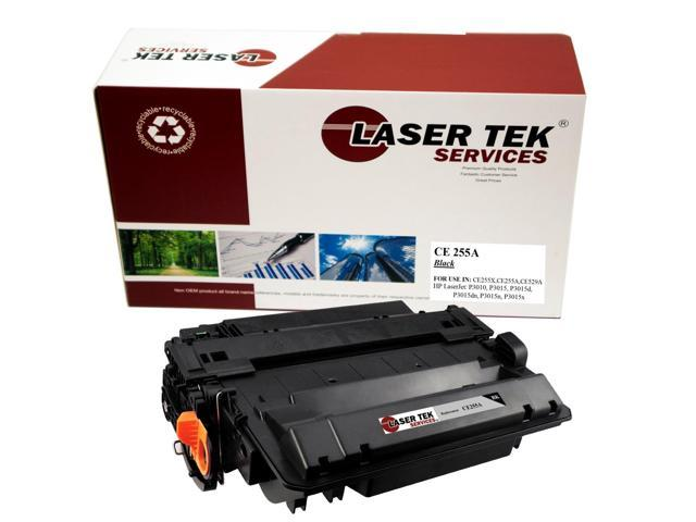 Laser Tek Services® Premium Compatible CE255A Toner Cartridge for the HP LaserJet P3015 P3015dn