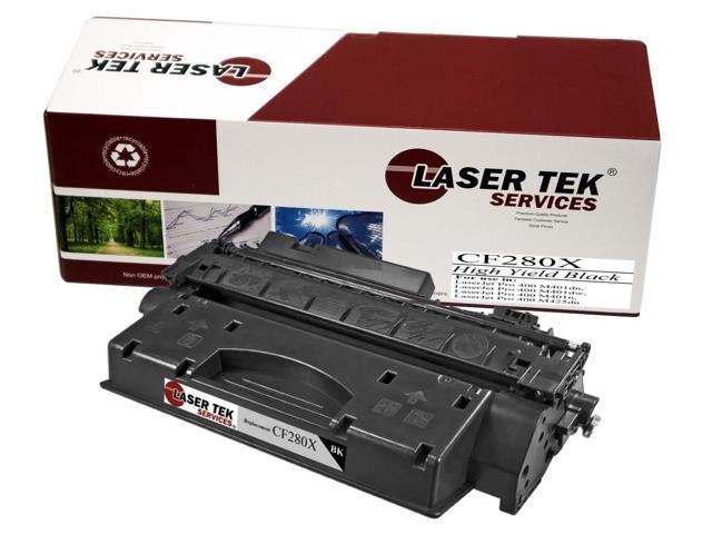 Laser Tek Services ® HP CF280X High Yield Compatible Replacement Toner Cartridge