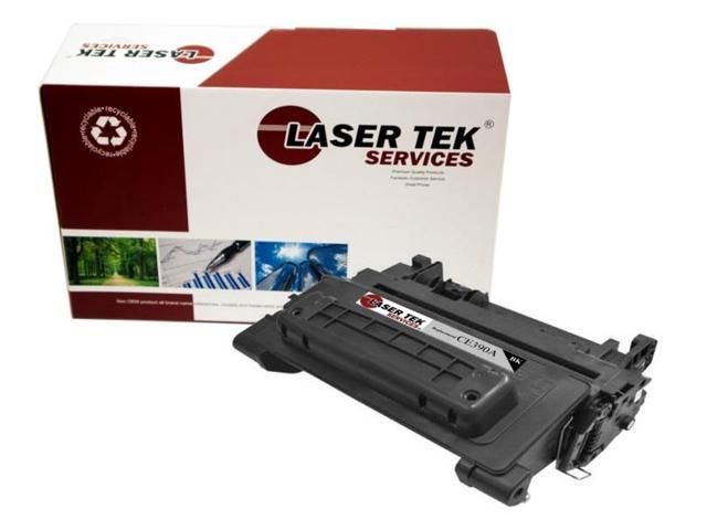 Laser Tek Services ® HP CE390A Premium Compatible Replacement Toner Cartridge