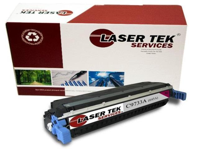 Laser Tek Services® HP C9733A (645A) Magenta Compatible Replacement Toner Cartridge