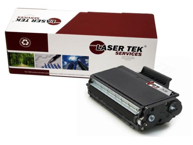 Laser Tek Services ® Brother TN580 1 Pack High Yield Compatible Replacement Toner Cartridges