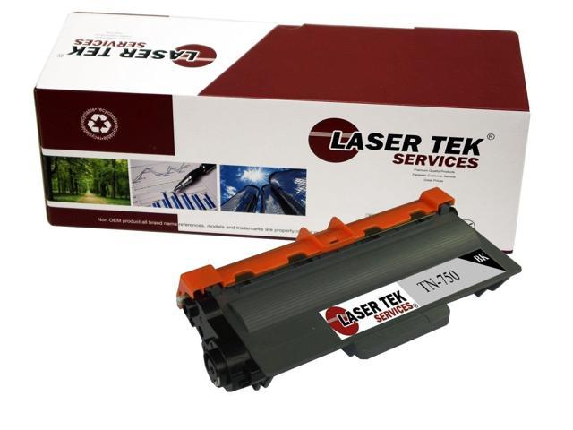 Laser Tek Services ® Brother TN750 High Yield Compatible Replacement Toner Cartridge