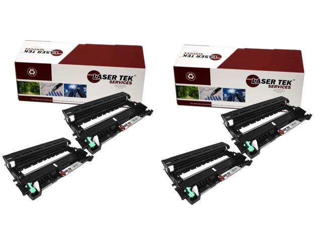 Laser Tek Services ® Brother DR420 4 Pack Compatible Replacement Drum Unit