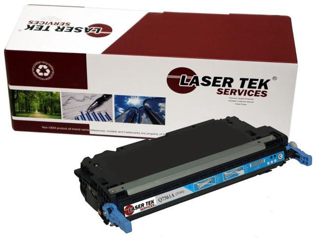Laser Tek Services® Replacement HP Q7561A (314A) Cyan High Yield Toner Cartridge