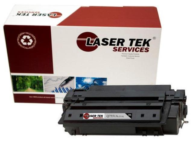 Laser Tek Services ® HP Q7551A (51A) Black Replacement Toner Cartridge for the HP LaserJet P3005, M3027 MFP, M3035xs MFP