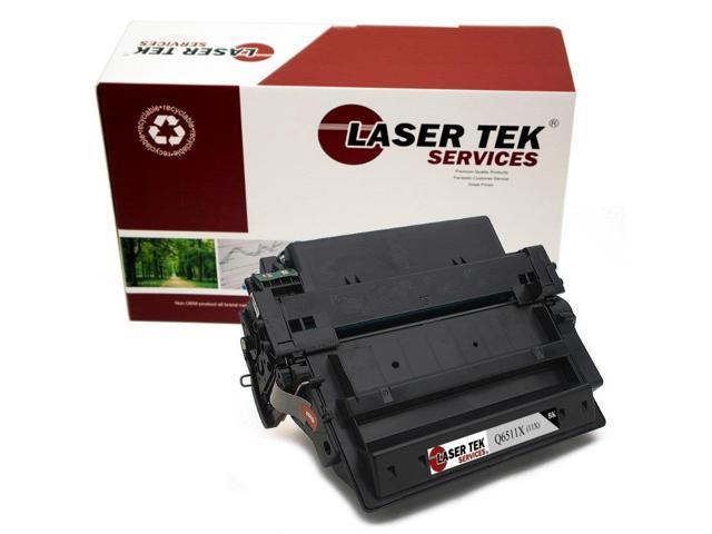 Laser Tek Services ® HP Q6511X (11X) Black Replacement Toner Cartridge for the HP LaserJet 2420, 2430