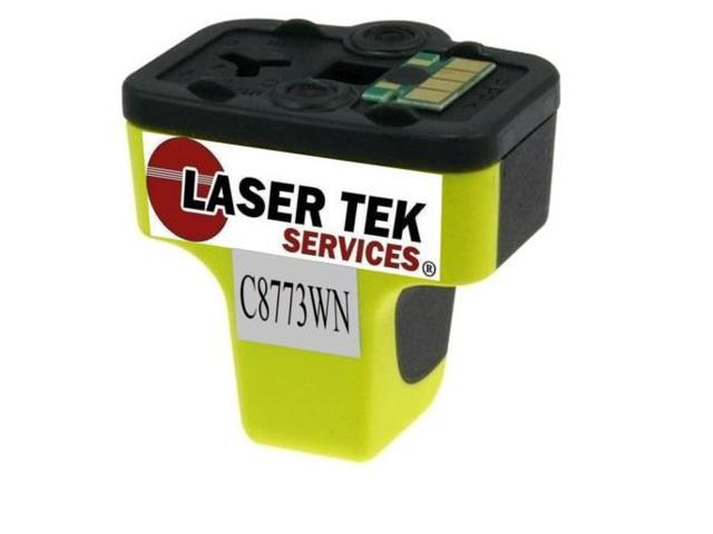 Laser Tek Services® Yellow Compatible Ink Cartridge HP C8773WN (HP 02)