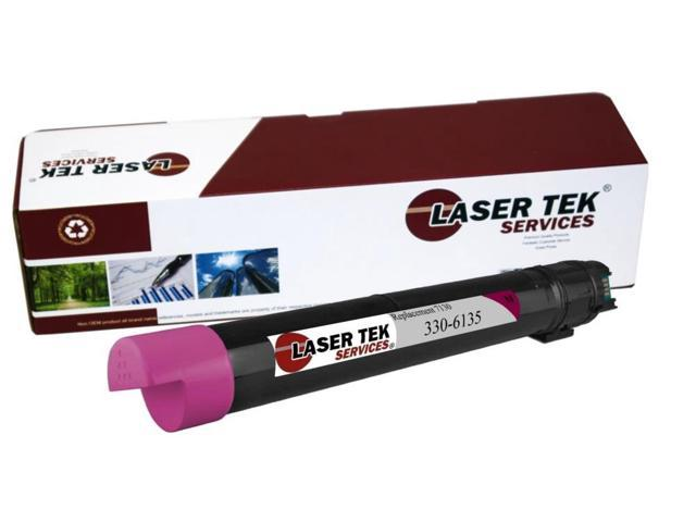 Laser Tek Services® Magenta Compatible Replacement Dell 7130 (330-6141) Toner Cartridge