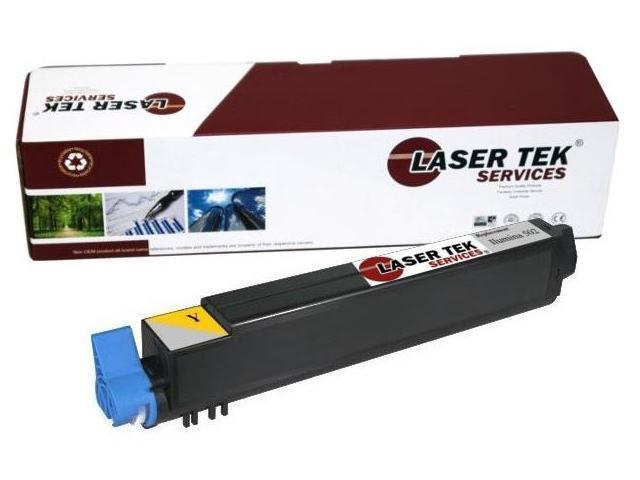 Laser Tek Services ® Yellow Compatible Toner Cartridge for the Xante Ilumina 502 Evelope Press 502 200-10024 20010024