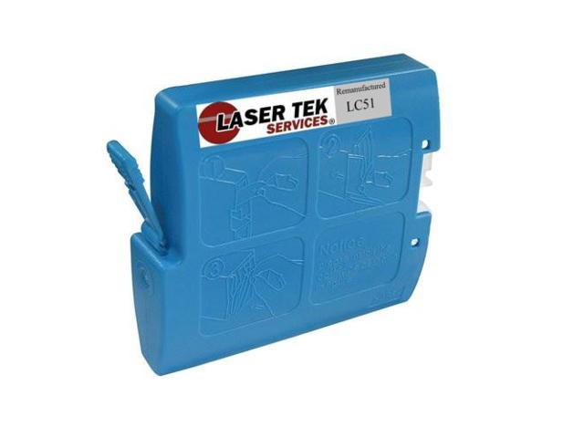 Laser Tek Services® Cyan Compatible Ink Cartridge Brother LC51C LC51