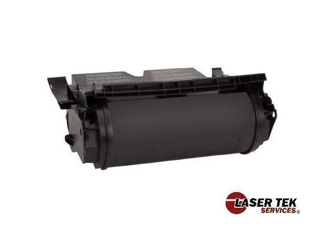 Laser Tek Services® Black Remanufactured Replacement Toner Cartridge for the Lexmark 12A6765 12A6865