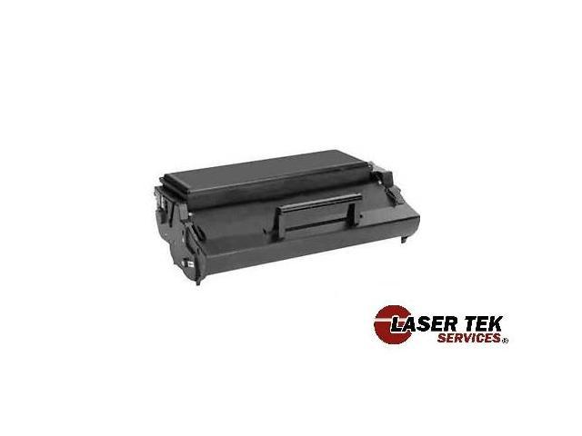 Laser Tek Services® Black Remanufactured Replacement Toner Cartridge for the Lexmark 12A7305