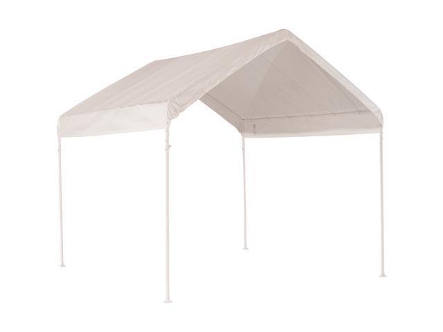 Shelterlogic 10'10' Canopy With 1-3/8 2-Rib Frame & White Cover