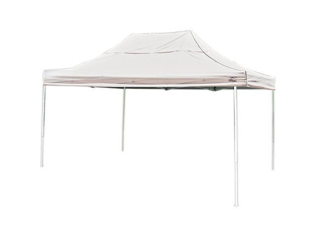 Shelterlogic 10X10 Sl Pop-Up Canopy With Desert Bronze Cover & Black Roller Bag