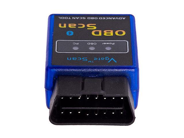 Mini ELM327 OBDII OBD2 Interface Bluetooth Diagnostic Scanner Tool for Benz 2001, 02, 03 W203 C200K (ISO) BMW X5 2002 (ISO) ...