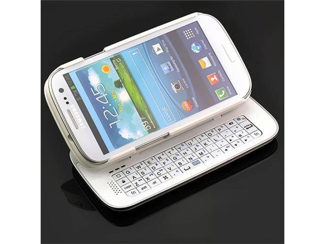 Detachable Backlight Wireless Bluetooth V3.0 Keyboard Case Shell for Samsung Galaxy S3 SIII i9300