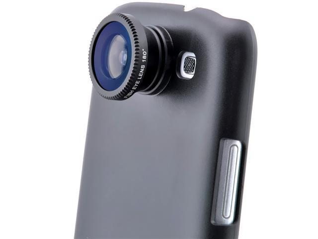 180° Degree Fisheye Fish Eye Lens + Back Cover Case for Samsung Galaxy S3 SIII I9300