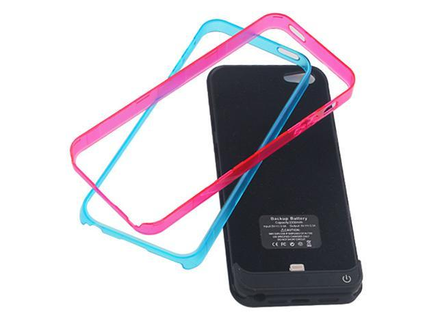 FULL Protection External Backup Battery Charger Case+Stand+Bumper for iPhone 5 5G