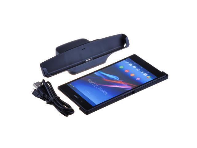 Desktop Charger Charging Cradle Dock Station For Sony Xperia Z Ultra XL39h Black