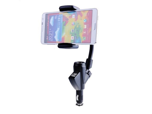 Dual USB Car Charger Phone Cradle Mount Holder Stand for iPhone 5S 5G 5C 5 4S 4G 4th 4 3GS 3G Samsung Galaxy S1 S2 S3 S4 ...