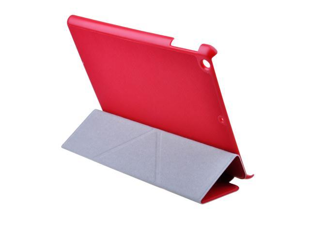 Red Slim PU Leather Case Smart Cover Stand for New Apple iPad 5 iPad Air 2013