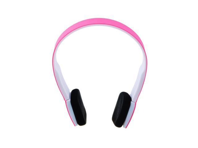 Pink Bluetooth 3.0 Music Stereo Earphone Headset Headphone with Microphone for iPhone 5S 5C 5 4S 4 3GS iPad 1 2 3 4 Mini HTC - OEM